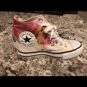 Converse Shoes - Converse all star women's sz 6.5 wedge